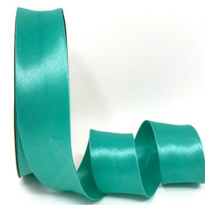 Satin Bias Binding - Light Jade - 18mm Or 30mm Wide