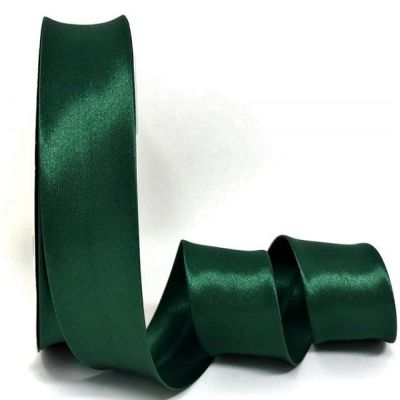 Satin Bias Binding - Pine Forest - 18mm Or 30mm Wide