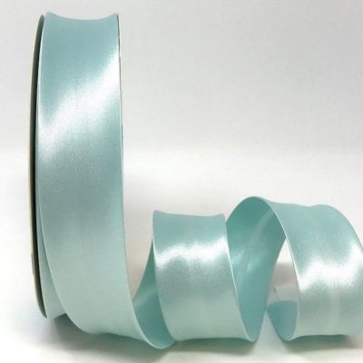 Satin Bias Binding - Eau De Nil - 18mm Or 30mm Wide