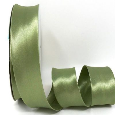 Satin Bias Binding - Sage - 18mm Or 30mm Wide