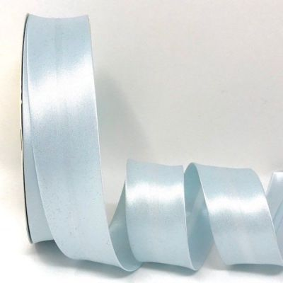 Satin Bias Binding - Iced Blue - 18mm Or 30mm Wide