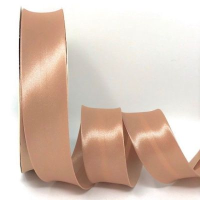 Satin Bias Binding - Blush - 18mm Or 30mm Wide