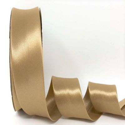 Satin Bias Binding - Latte - 18mm Or 30mm Wide