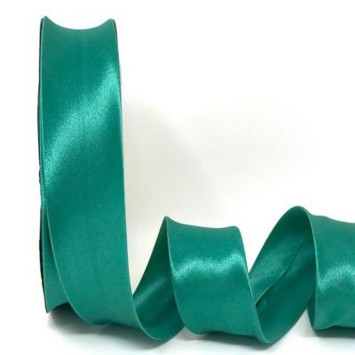 Satin Bias Binding - Medium Jade - 18mm Or 30mm Wide