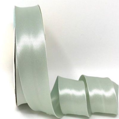 Satin Bias Binding - Pale Green - 18mm Or 30mm Wide