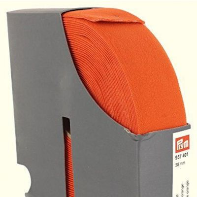 Prym Waistband Elastic - 38mm Wide - Orange