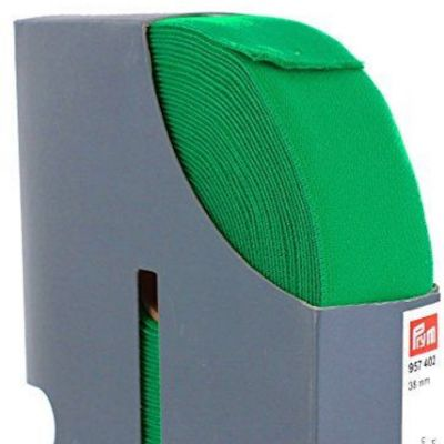 Prym Waistband Elastic - 38mm Wide - Green
