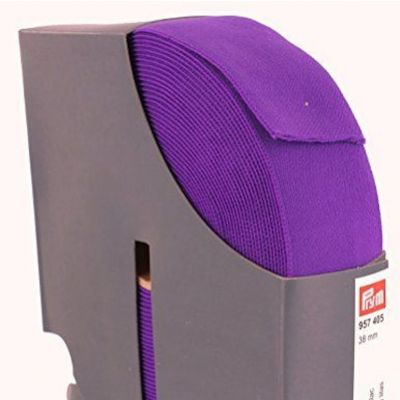 Prym Waistband Elastic - 38mm Wide - Purple