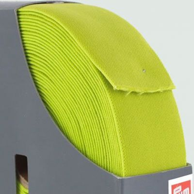Prym Waistband Elastic - 38mm Wide - Citrus Green