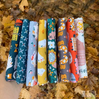 Dashwood Studio  - Hibernate - Fat Quarter Bundle - 7 Fabrics