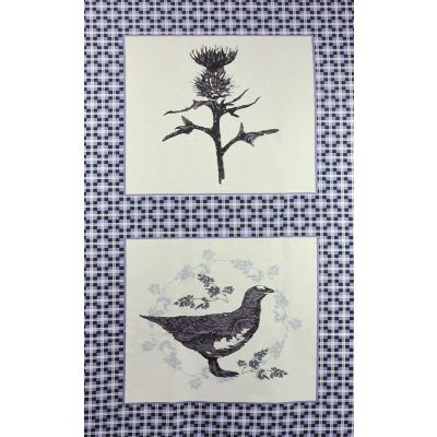 Fabric Freedom - Highland - Thistle 60cm Panel