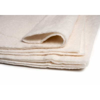 "Full: Wadding Heirloom Premium Cotton Blend 81"" x 96"" - Full Size"