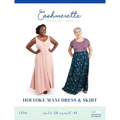 Cashmerette Sewing Patterns -  Holyoke Dress And Skirt Dressmaking Pattern