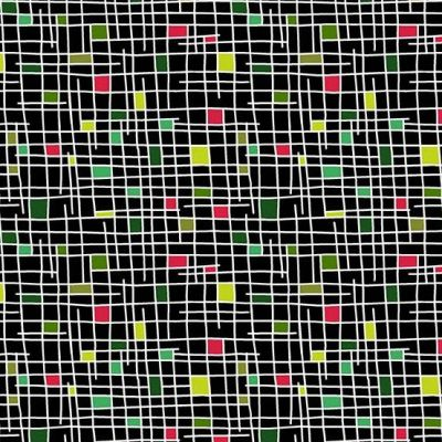 Andover - Holiday Tweets - Grid Black