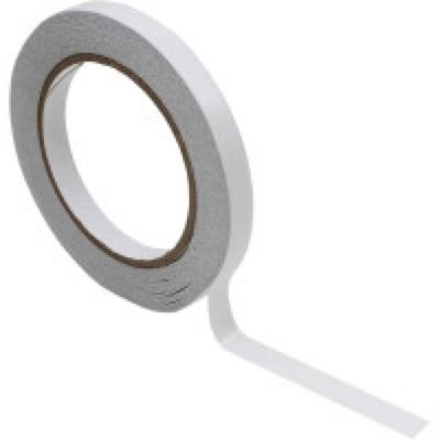 25m Roll Of Double Sided Sticky Tape - 9mm Wide