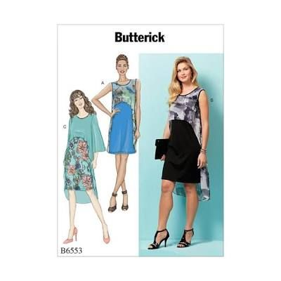 Remnant -Remnant - Butterick Sewing Pattern B6553 - Y - (Xsm - Sml - Med) -  End of Line