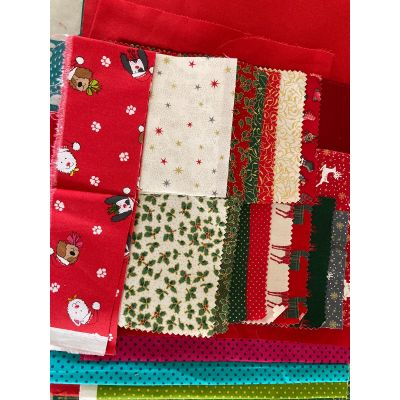 Remnant - Christmas Theme - Patch Pack: 1m approx