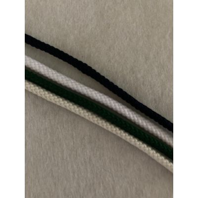 Remnant - 4 x 2m lengths of Polyester Braided cord - 8m total - colours as image.