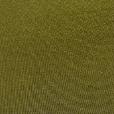 Organic Bamboo French Terry Fabric - Olive