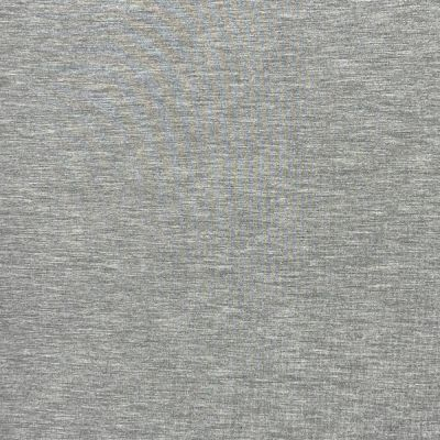 Bamboo French Terry Fabric - Light Grey Marl