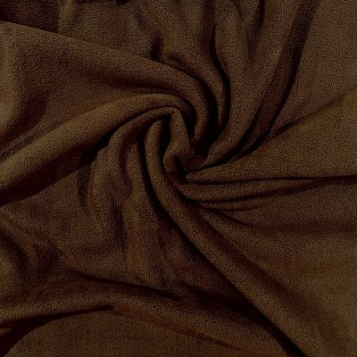 Cocoa Polar Fleece Fabric