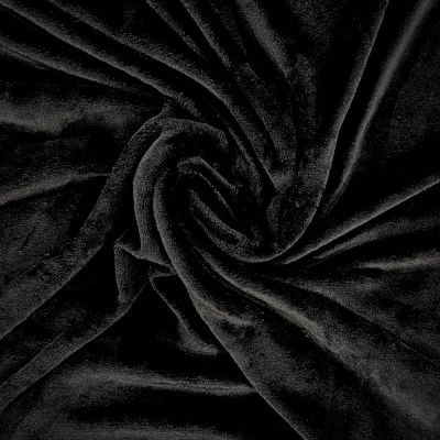 Double Sided Cuddle Fleece - Black