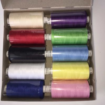 Coats Moon Thread Assorted Boxes Of 10 Threads - Amazing Value