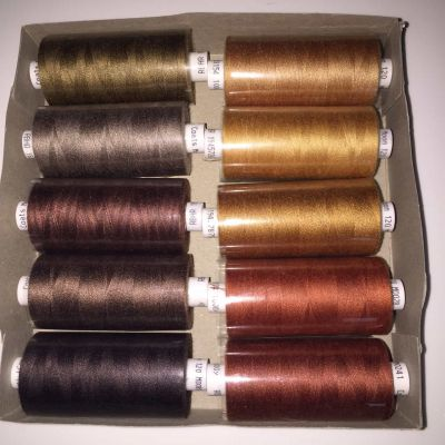 Browns Box of 10 moon thread