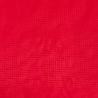 Solid Red Nylon Ripstop fabric
