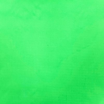 Solid green nylon ripstop fabric