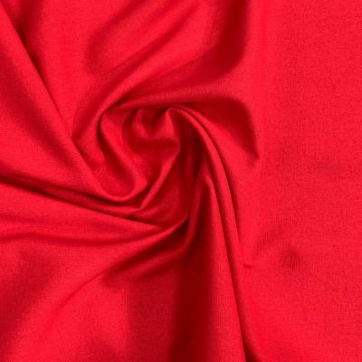 Linen Viscose Blend - Red