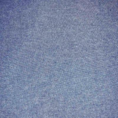 Upholstery / Curtain Fabric - Woven Plain - Blue - 280cm Wide