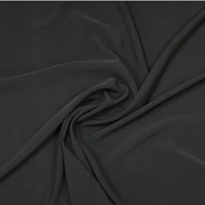 Luxury Crepe Plain - Black