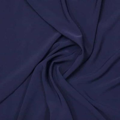 Luxury Crepe Plain - Navy