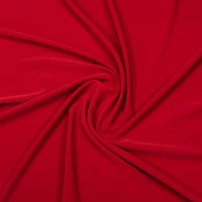 Luxury Crepe Plain - Red