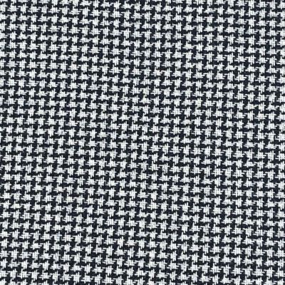 Hound Tooth Wool Blend Coating - Navy