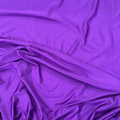 Purple 4 Way Stretch Lycra Fabric