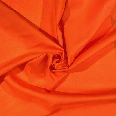 Plain Polycotton Orange