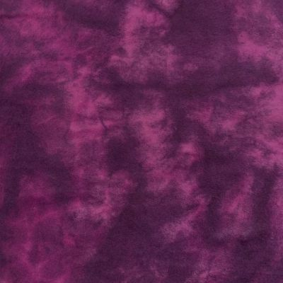 Marcus Fabrics - Plum Hand Tie Dyed Flannel Fabric