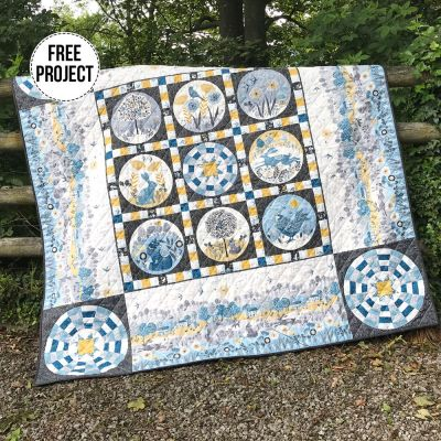 Makower - Grove - Quilt Pattern - Free Instant Download