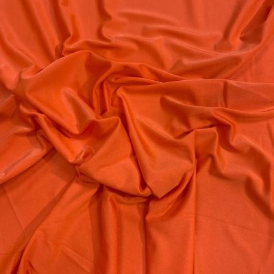 Orange 4 Way Stretch Lycra Fabric