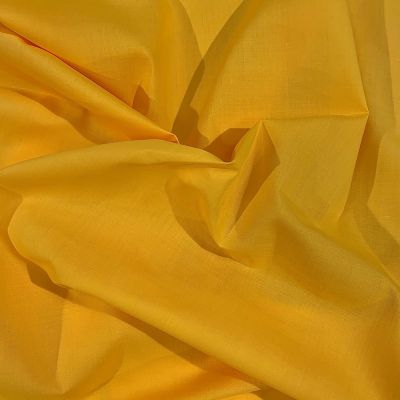 Plain Polycotton Golden Yellow