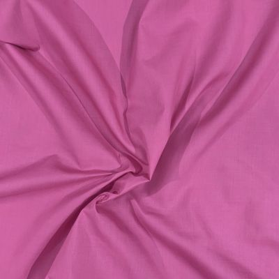 Plain Polycotton Dark Rose