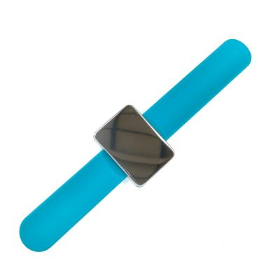 Magnetic Wrist Pin Cushion - Blue - With Comfortable Wrist Strap