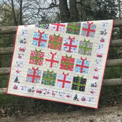 Makower - Yappy Christmas Quillow Kit