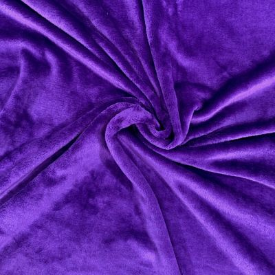 Double Sided Cuddle Fleece - Purple