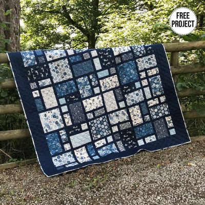 Makower - Indigo - Quilt Pattern - Free Instant Download