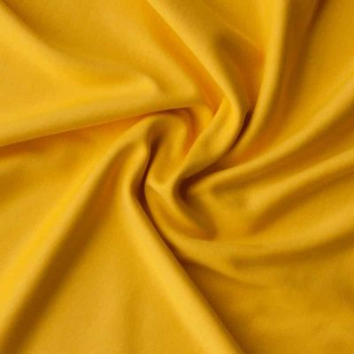 Cotton Interlock Jersey - Solid Yellow