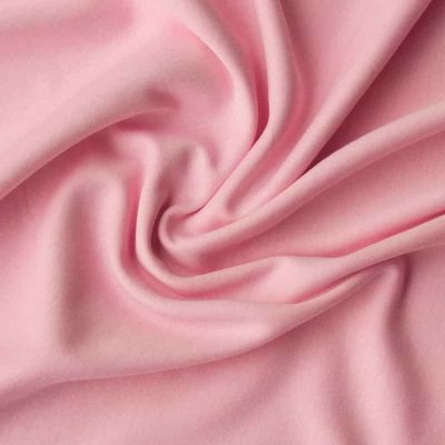 Cotton Interlock Jersey - Solid Rose