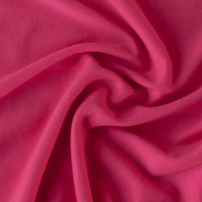 Cotton Interlock Jersey - Solid Fuchsia